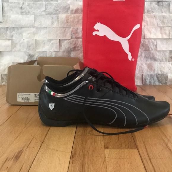 eb199bc75f88 Puma x Ferrari collab sneakers in black brand new